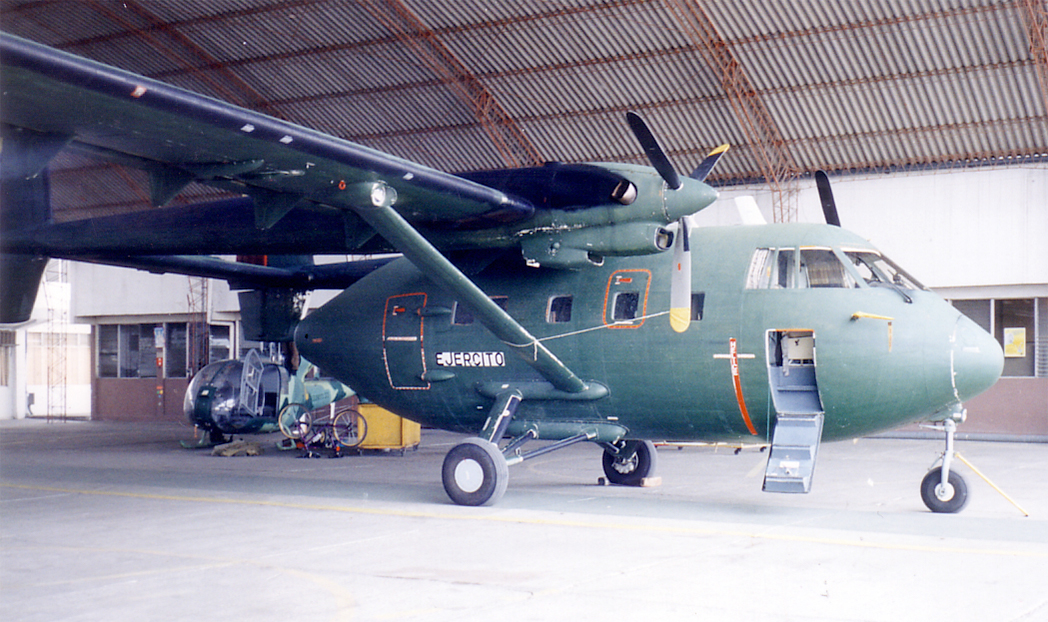 Ecuadorian Army IAI-201 T-204