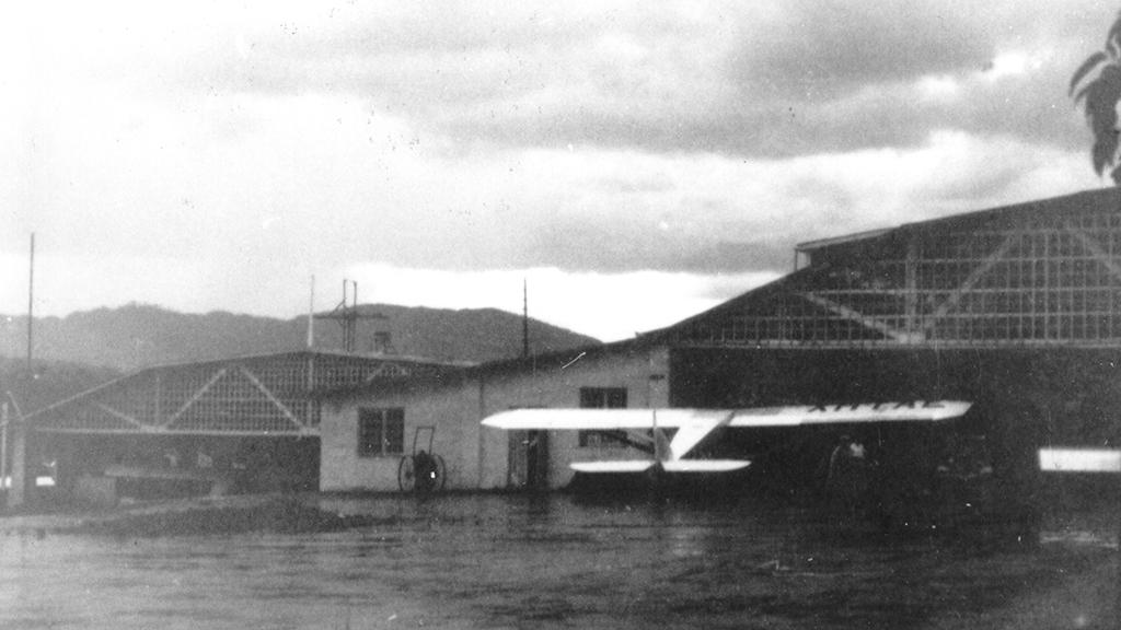 Hangars of Empresa Dean