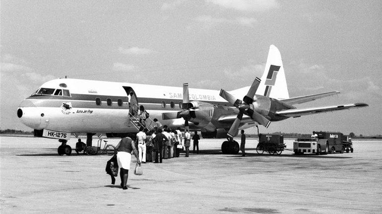 Lockheed L-188, HK1275