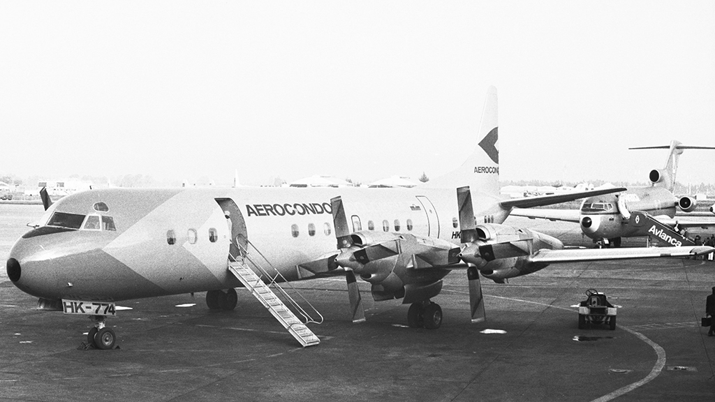 Lockheed L-188, HK774