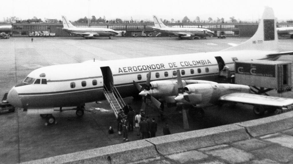 Lockheed L-188, HK777