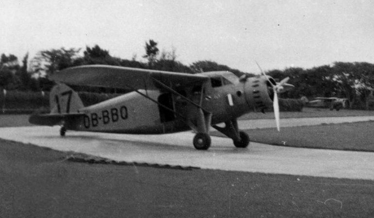 Stinson-Faucett F-10 OA-BBQ