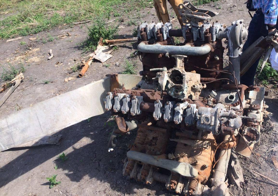 Engine of the Potez 25 T.O.E. serial 13